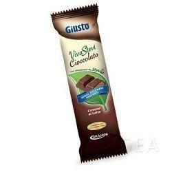 Giusto Senza Zucchero Viva Stevi Barretta di Cioccolato con Stevia