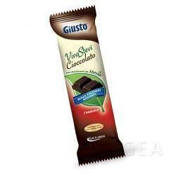 Giusto Senza Zucchero Viva Stevi Barretta di Cioccolato Fondente con Stevia
