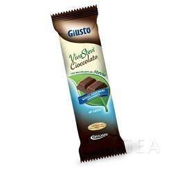 Giusto Senza Zucchero Viva Stevi Barretta al Cioccolato al Latte