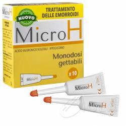 Micro H Monodosi per il Trattamento delle Emorroidi
