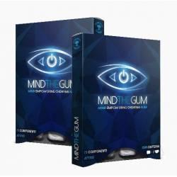 Mind The Gum Integratore per la Memoria e Concentrazione