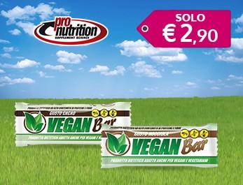 Pro Nutrition barrette proteiche vegan