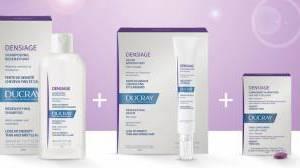 Ducray Densiage: la linea contro l'invecchiamento dei capelli