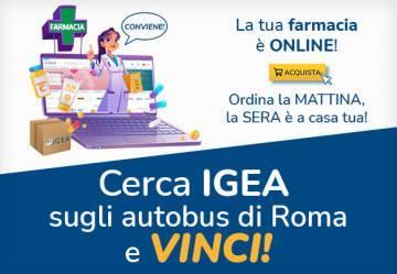Cerca Igea sugli autobus di Roma e vinci!