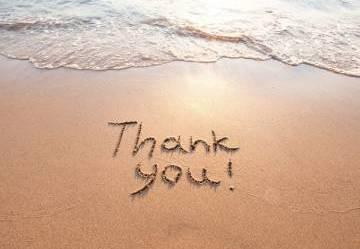 É la giornata mondiale della gratitudine.