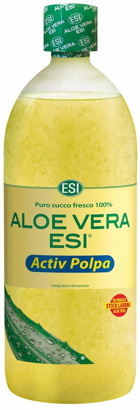 Novità ESI: Aloe Vera Succo Activ Polpa + OMAGGIO