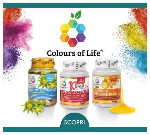 Prepara, rafforza e previeni con Colours of Life!