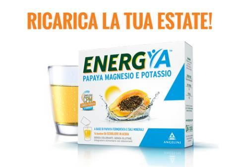 Ricarica la tua estate con ENERGYA Papaya Magnesio e Potassio!