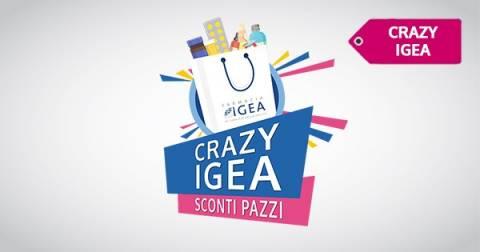 Crazy Igea Gennaio: prime super offerte del nuovo anno! Scopri i marchi al 50%