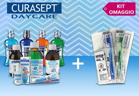 Con Curasept in omaggio il kit igiene orale