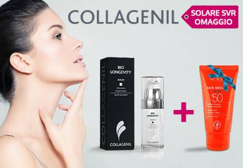 Collagenil Bio Longevity Serum: il siero dell'estate!