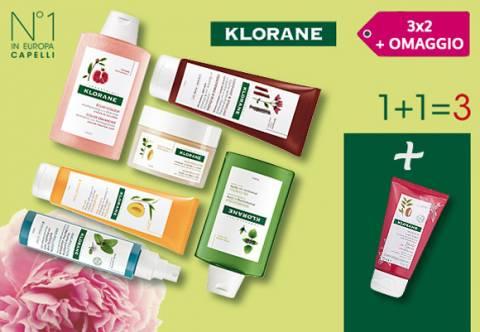 Promo Klorane 3x2