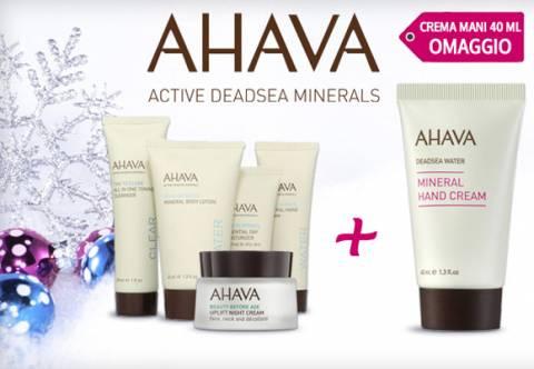 Promo Ahava: crema mani omaggio!