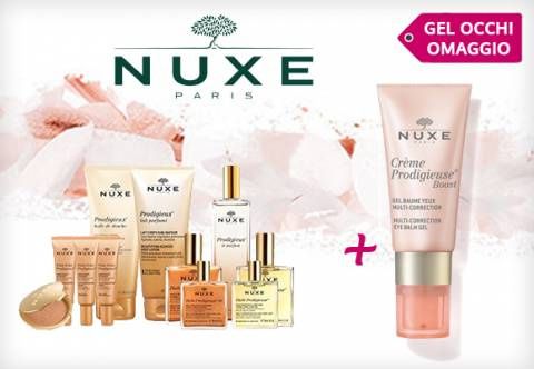 Nuxe Gel Baume Occhi Omaggio!
