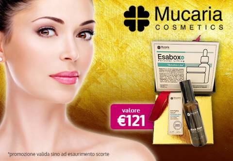 Promo Mucaria: Omaggio da € 121!
