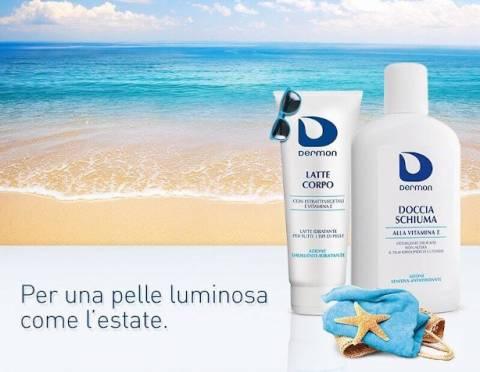 Detersione e idratazione del corpo in estate