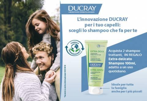 Promo Ducray Shampoo Extra-Delicato Omaggio