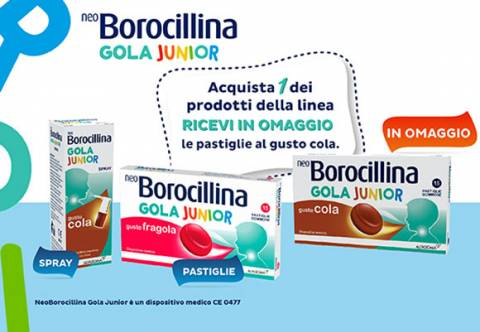 Promo NeoBorocillina Gola Junior