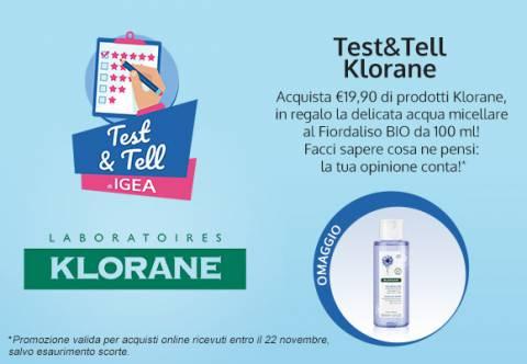 Test&Tell Klorane