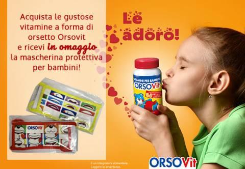 Promozione OrsoVit Mascherina Omaggio