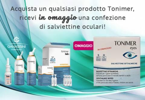 Promozione Tonimer Salviettine Omaggio