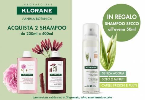 Klorane Omaggio Shampoo Secco
