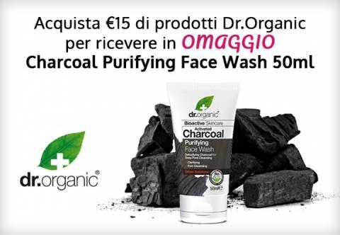 Dr Organic Detergente Viso Omaggio